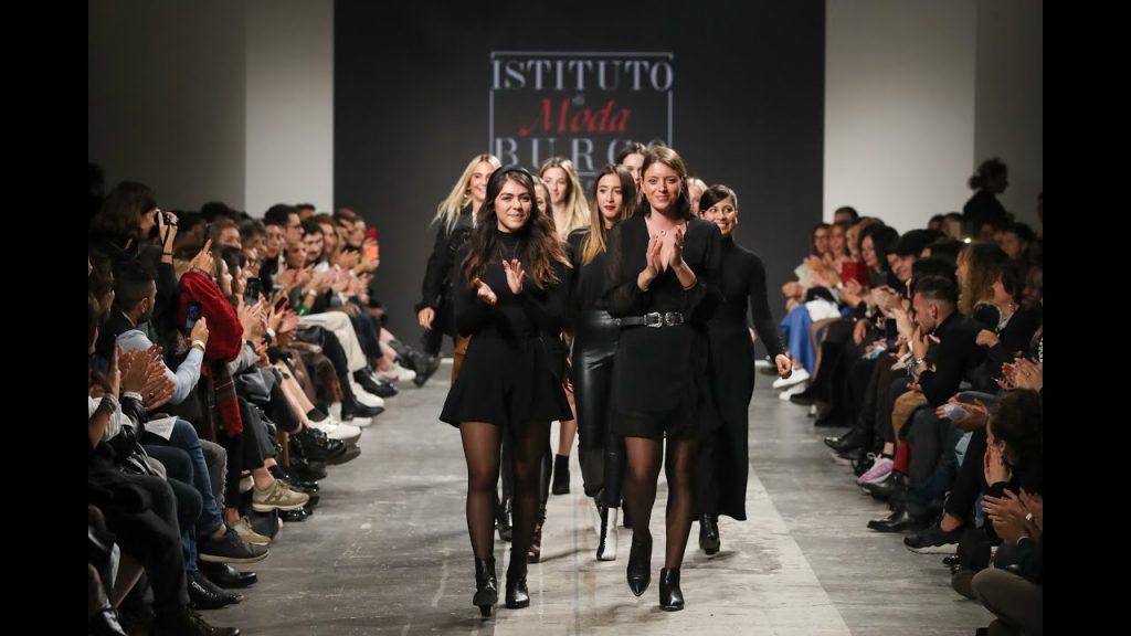 Burgo students best fashion show in fashion graduate Italia 2019