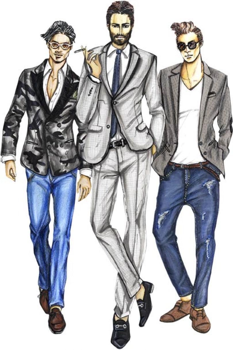 Man's Wear Design